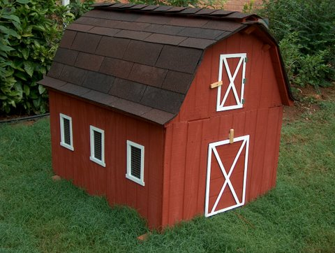 Kewer guide to get red barn chicken coop plans for Red chicken coop